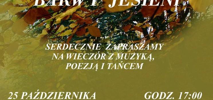 Koncert Barwy Jesieni  – 25 października 2016 r.