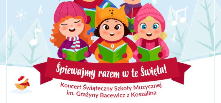 """W """"Śpiewajmy razem w te święta!""""– koncert uczniów ZPSM w Galerii Emka"""