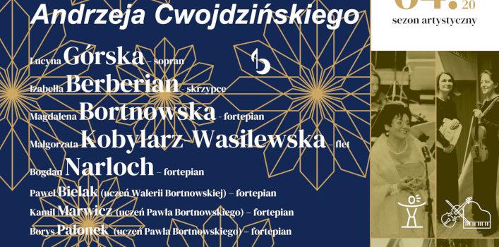 Koncert urodzinowy dla prof. Andrzeja Cwojdzińskiego w Filharmonii Koszalińskiej