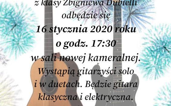Noworoczny Popis Gitarowy – 16 stycznia 2020 r.