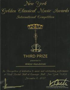 Dyplom Gold. Class 001