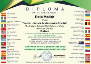 P.Malich dyplom