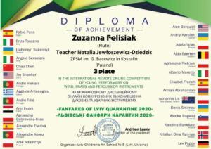 Z.Felisiak dyplom